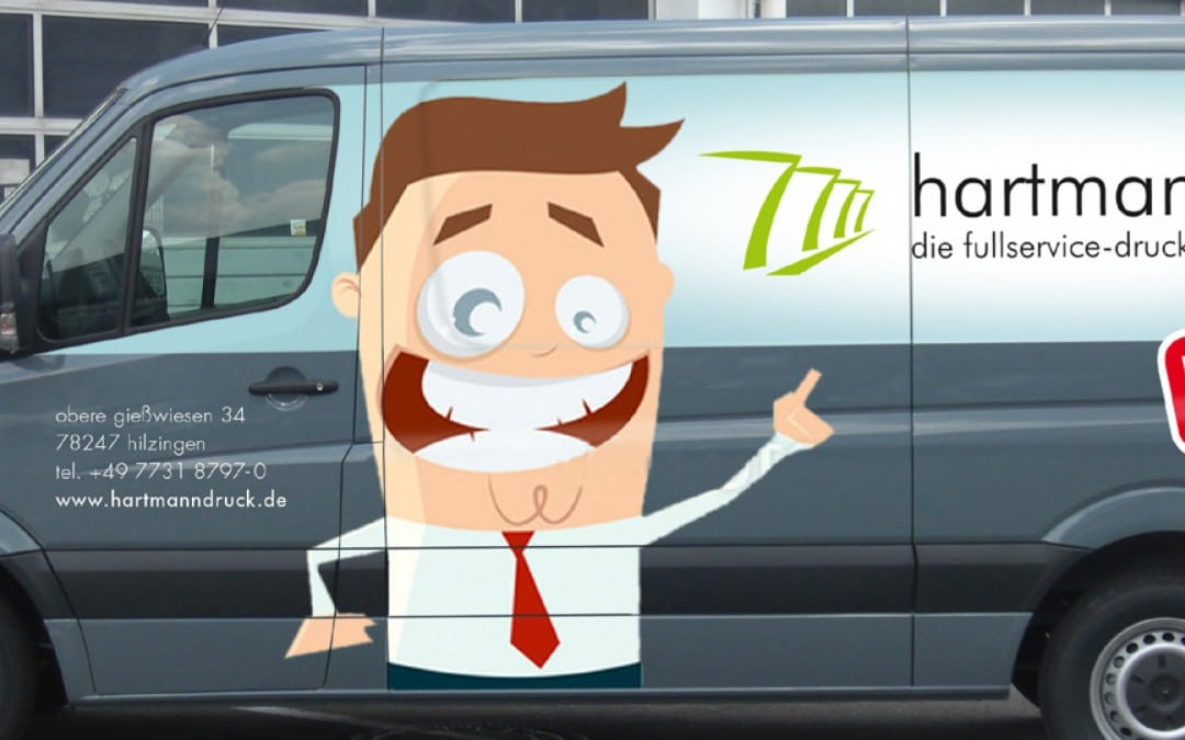 Wir präsentieren unser neues Firmenfahrzeug